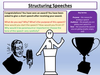 Nonfiction Writing - Speech Structure