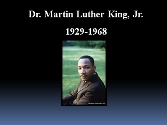 Martin Luther King Assembly WITH SOUND