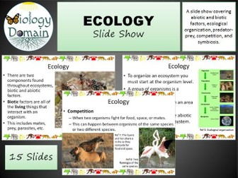 Ecology Slide Show