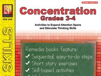 Concentration (Gr. 3-4)