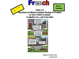 French for Adults: Beginners: Part 14: 'Vouloir' in the present tense, 'ne .. pas' and leisure