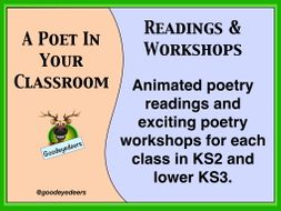 A Poet In Your Classroom - KS2/KS3