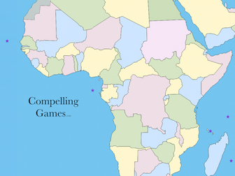 Africa 2019:  Geography Card Games