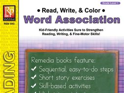 Read, Write, & Color: Word Association 1