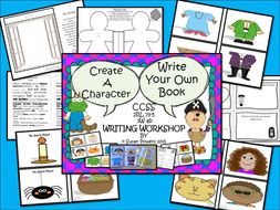 Build Your Own Story. A Writing Workshop for Big Kids.