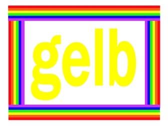 Farben (Colors in German) Posters