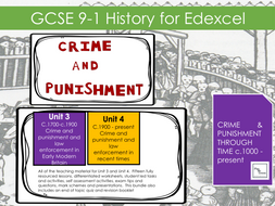 Edexcel History GCSE (91) Crime and Punishment c1700-present