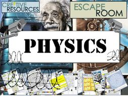 Physics Escape Room - Science