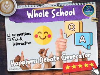 Happiness Debate Generator