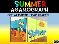 Summer Agamograph Art Activity