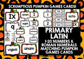 LATIN-PUMPKIN-NUMBERS---ROMAN-NUMERALS-MATCHING-CARDS.zip