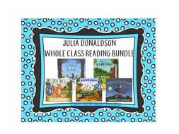 Julia Donaldson-Whole Class Reading Pack