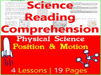 Position & Motion of Objects - Physical Science Reading Passages - Grade 3-4