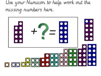 Numicon Missing Number