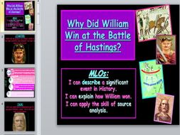 Battle of Hastings Investigation - 2 part lesson.