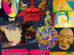 Vietnam ~ Art History ~ Vietnamese ~ Art ~ Asian ~ Oriental  ~ 169 Slides