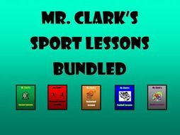 Sport Lessons Bundled