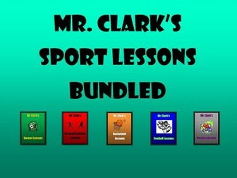 Sport Lessons Bundled