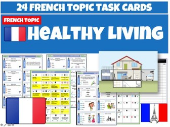 French GCSE Healthy Lifestyles