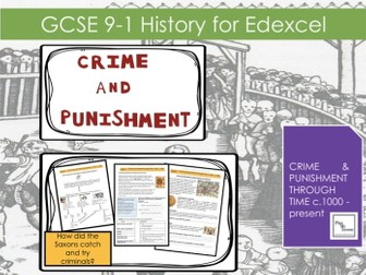 Edexcel GCSE 9-1 Crime & Punishment:  L3 How did Anglo Saxons catch and try criminals?