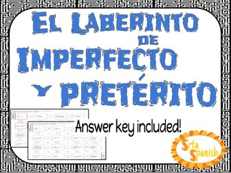 Preterite vs Imperfect- Spanish Laberinto