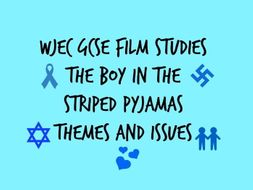 wjec gcse film studies paper the boy in the striped pyjamas  activity