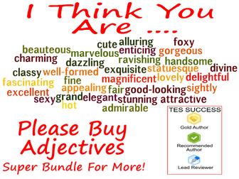 Adjectives Bundle