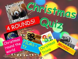 Tutor Time Christmas Quiz