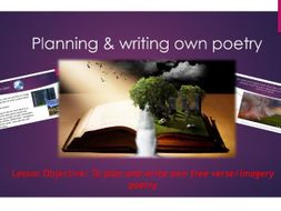 English- Planning & writing poetry