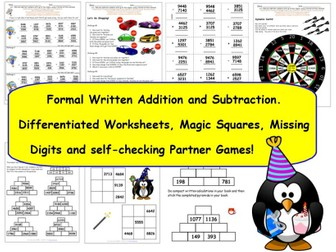 2 Digits Addition Worksheets Excel Y Formal Written Addition  Subtraction Of  Digit Numbers   Worksheet For Letter C Pdf with 3 Digit Addition Without Regrouping Worksheets Excel Y Formal Written Addition  Subtraction Of  Digit Numbers  Activities   Worksheets By Tes  Teaching Resources  Tes Language Arts Free Worksheets