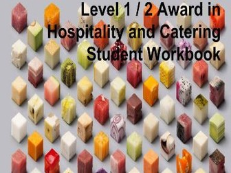 Eduqas Level 1/2 Hospitality and Catering Student Workbook