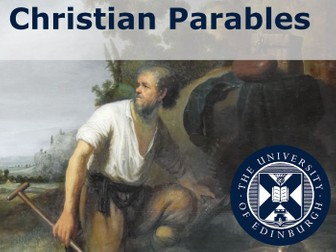 Christian Parables teaching resource.