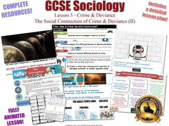 Social Construction of Crime - Merton & Becker - Crime & Deviance L3/20 [ AQA GCSE Sociology - 8192]