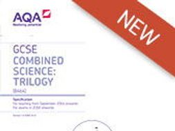 NEW AQA Trilogy Science: Required Practical Revision Sheets for BIOLOGY x7
