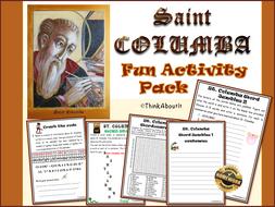 Christianity: St Columba Fun Activity Pack