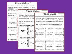 Interactive Notebook - Math - Numbers & Base 10