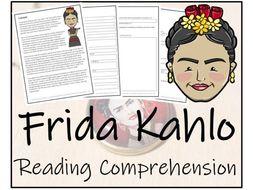 UKS2 History - Frida Kahlo Reading Comprehension Activity