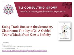 Using Trade Books in the Secondary CR: The Joy of X: A Guided Tour of Math, from One to Infinity
