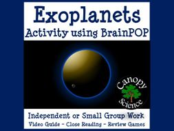 Exoplanets Activity using BrainPOP