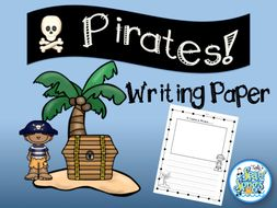 Pirates Writing Paper