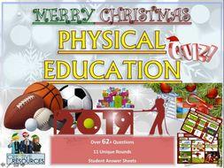 GCSE PE Christmas Quiz
