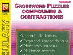 Compounds, Contractions, & Abbreviations: Crossword Puzzles