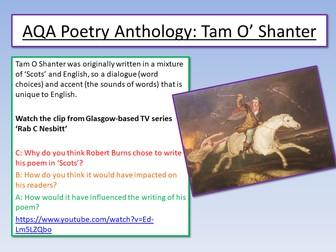 Robert Burns - Tam O' Shanter 1