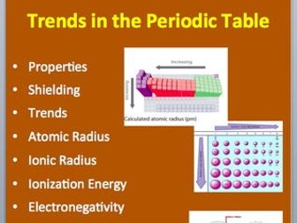 Trends in the periodic table a senior level chemistry powerpoint trends in the periodic table a senior level chemistry powerpoint lesson by teachwithfergy teaching resources tes urtaz Choice Image