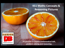 KS1 Talk for Maths Concepts, Reasoning & Problem Solving Pictures