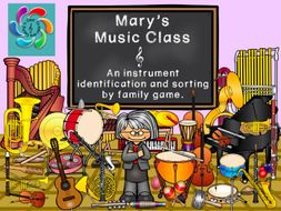 Mary's Music Class-an Interactive Musical Instrument Game