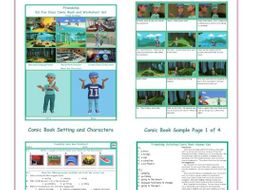 Friendship Activities Comic Book and Worksheet