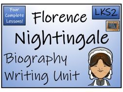 LKS2 History - Florence Nightingale Biography Writing Activity