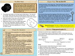 Treasure Island Part One PowerPoint Lesson Pack: 20 slides