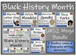 UKS2 Black History Month Reading Comprehension & Writing Bundle